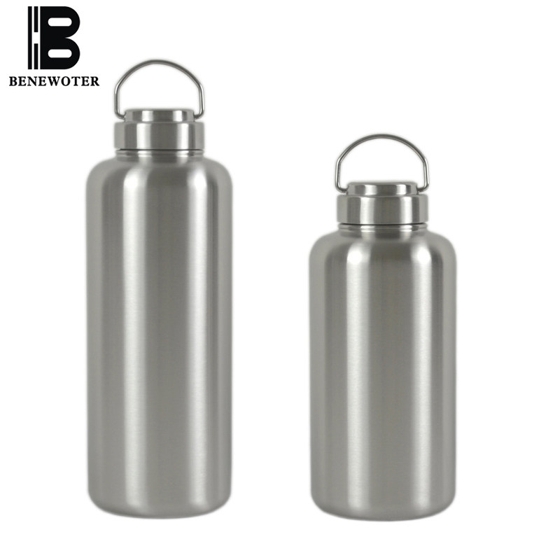 c7f01c09ac 2500ml Portable Sport Outdoor Camping Large Capacity Thicken 304 Stainless  Steel Water Bottle Insulated Kettle Drinkware