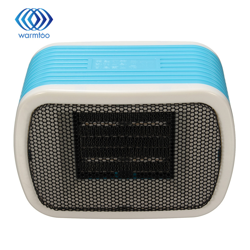 PTC Ceramic Space Mini Stereo Heaters Electric 220V 500W Warm Winter Mini desktop Fan Heater Forced Home Applicance