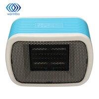 PTC Ceramic Space Mini Stereo Heaters Electric 220V 500W Warm Winter Mini Desktop Fan Heater Forced