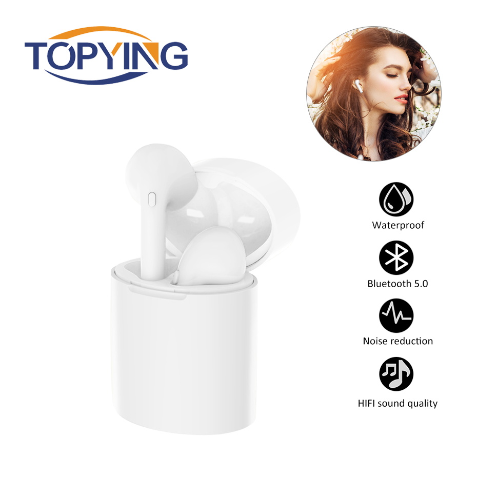 X10 Bluetooth 5 0 True Wireless Earphone Headset Waterproof Noise Cancelling Charging Box for Xiaomi Samsung Huawei iphone in Bluetooth Earphones Headphones from Consumer Electronics