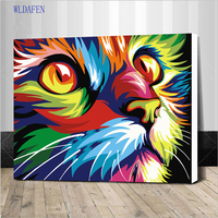 Framed Diy Oil Painting By Numbers Wall Decor On Canvas Oil Paint Coloring By Number Drawing