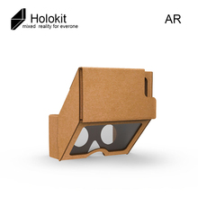 VR Holokit Google Cardboard upgrade 3.0 Virtual Reality Glasses AR Enhanced holographic glasses- for 4.7-6.2 inch Smartphone