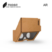 Holokit AR MR Cardboard Aryzon Glasses Enhanced Holographic Glasses Support For Iphone 7 Arkit Hololens Android