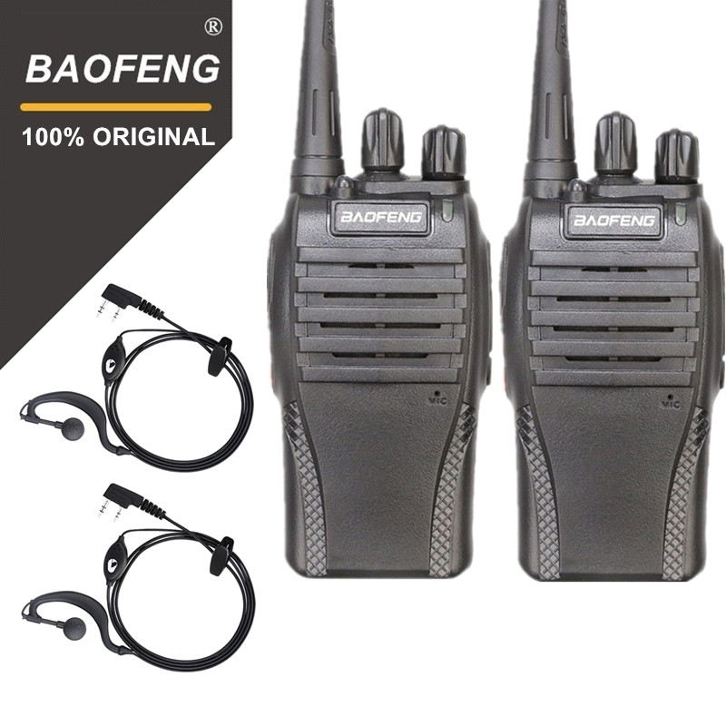 100% Original Baofeng 2PCS BF 999s UHF  Hotel Communicator Handheld Transceiver Cb Radio Flashlight 999S Radio Walky Talky