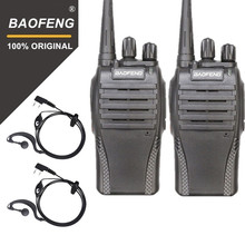 100% Original Baofeng 2PCS BF-999s UHF  Hotel Communicator Handheld Transceiver Cb Radio Flashlight 999S Walky Talky