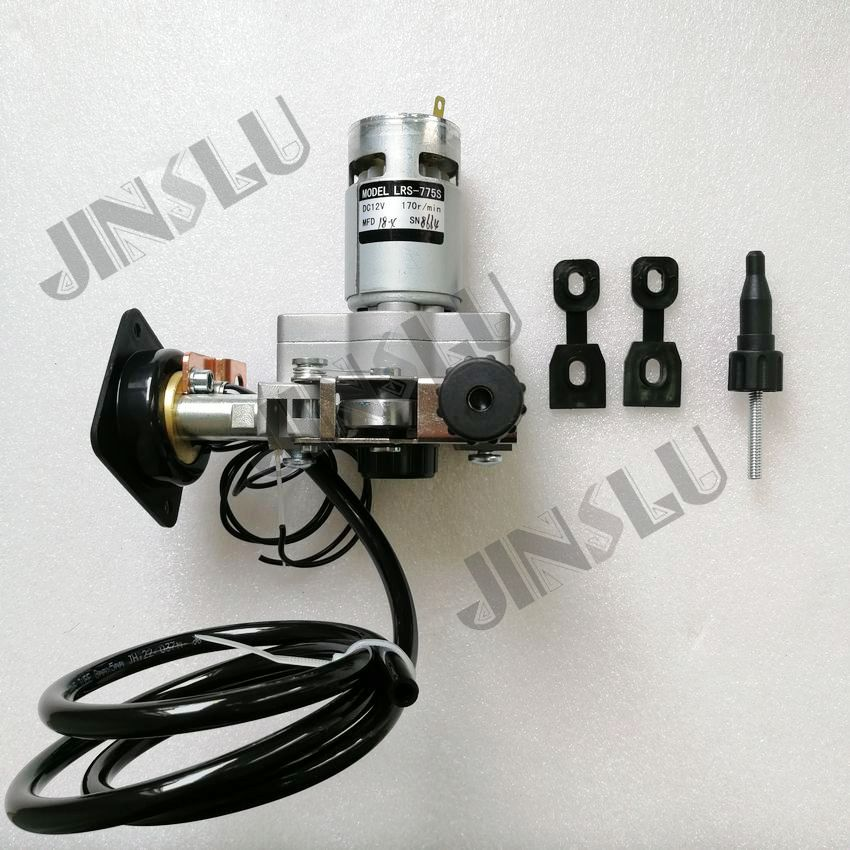 Free Shipping 12V DC Mig Welding Wire Feeder Motor ZK775S 775S 0 8 1 0mm
