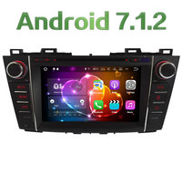 Quad Core 2GB RAM 16GB ROM 8 Android 7 1 2 Car Multimedia Stereo Radio Player