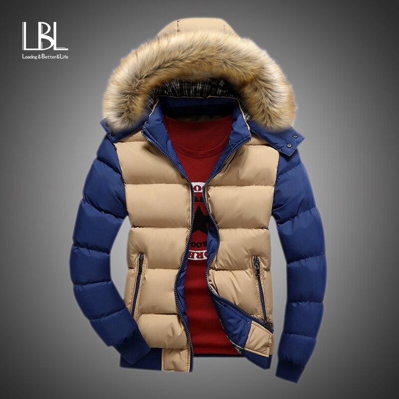Girls Kids Splice Parka Cotton Padded Long Jacket Fur Hooded Coat Snowsuits Top