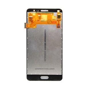 Image 2 - Para Samsung Galaxy G550T G5500 G550FY On5 LCD Screen Display Touch com Digitador Frente Vidro peças de Montagem de Peças de Reposição