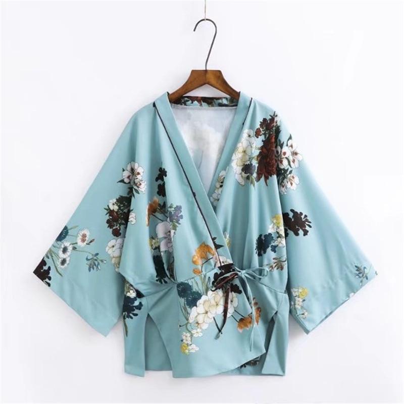 Blouses & Shirts Neploe Ruffles Chiffon Shirt Short Sleeve Bow Tie Lace-up Blouse Japanese Sweet Princess Blusas Woman Sexy Strapless Tops 35990 Choice Materials
