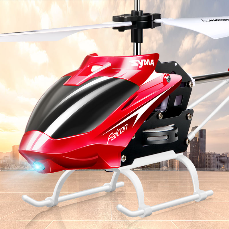 Beste Original Syma W25 RC Helicopter 2CH Drone Indoor Bestuurbare OO-92