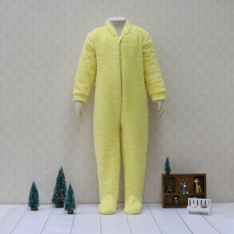 Sia-side sollevato flanella Costume intero Body e Tutine Per Bambini pigiami Per Bambini dormiente della Chiusura Lampo Caldo Del Bambino Dei Ragazzi Vestiti di natale