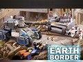 GUDI Frontera Tierra Star Wars Educativos Bloques de Construcción de Juguetes Para Los Niños Regalos Mini Tanque Del Ejército Compatible Con Legoe