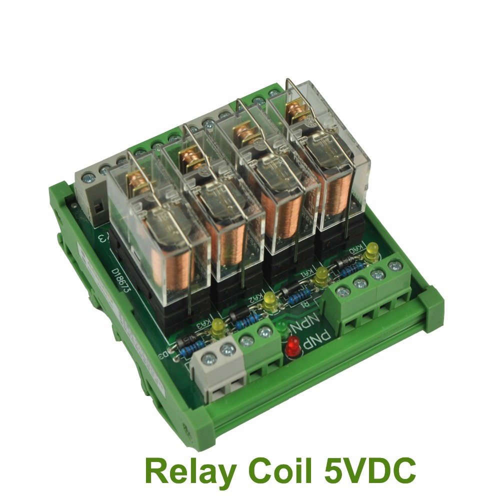 G5la1 5dc Omron Electronic Components General Purpose Relay Din Dcac Solid State Or Ssr Del30008 4 Channel 1 Spdt Rail Mount G2r 5v Interface