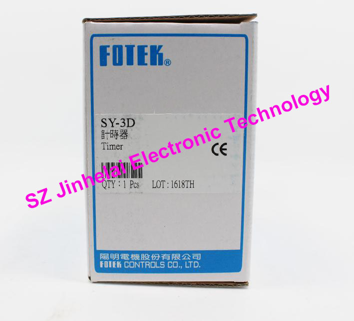New and original  FOTEK  TIME RELAY  SY-3D 10pcs v 155 1c25 momentary limit micro switch spdt snap action switch