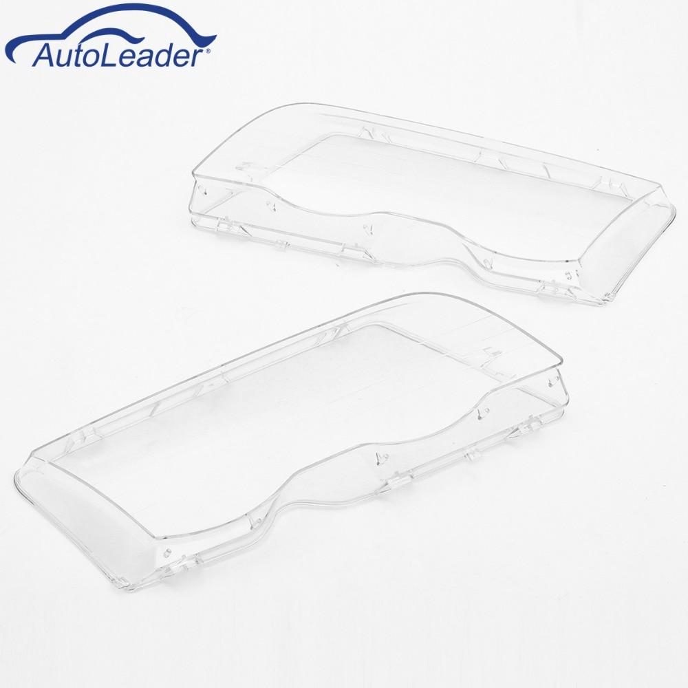 Transparan Lensa Perumahan Lampu Shell Penutup Perakitan Bemper L 300 Crystal Kota L300 Kristal Kiri Kanan Untuk Bmw E46 3 Series 4dr Wagon Sedan 1999 2001