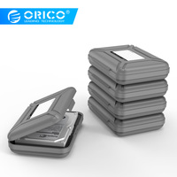 ORICO 3.5 inch HDD Protector Box Waterproof Storage Case for 3.5 Hard Drive With EVA Crash Pads Marking Label Design