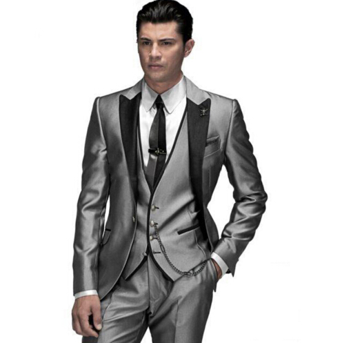 custom made groom tuxedo 22 styles groomsmen new arrival weddingdinner suits best man suits sets jacketpantstievest v42