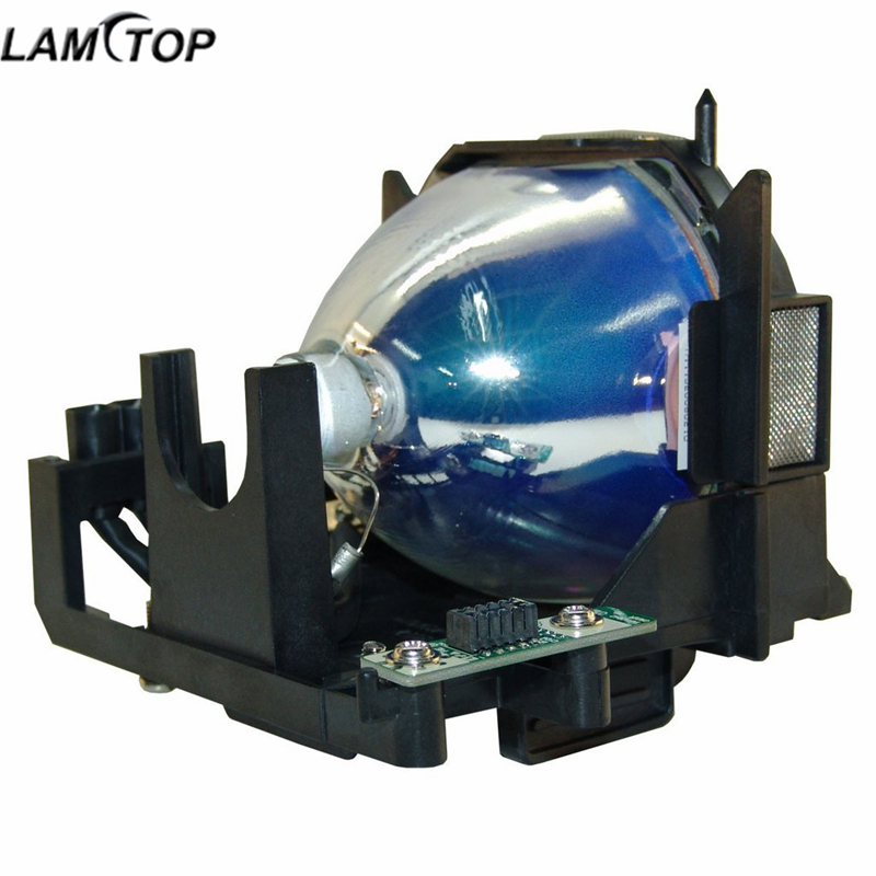 LAMTOP ET-LAD60W Projector Lamp bulb with housing PT-FD630/PT-FDW630/PT-FDW630L original replacement bare bulb panasonic et lal500 for pt lb280 pt tx400 pt lw330 pt lw280 pt lb360 pt lb330 pt lb300 projectors