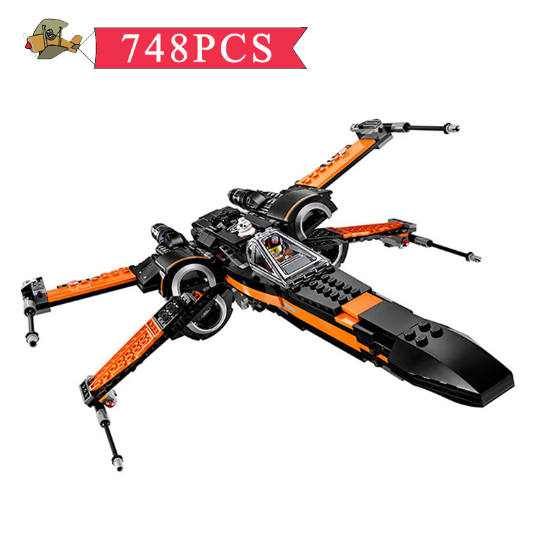 Model Building Blocks Toy Star X wing Fighter  Assembled set DIY Classic Children Building Bricks Educational Toys Gift Bei Fen self assembled diy electronic boxing fighter robot building blocks toys for children kids gift assembly educational puzzle toy