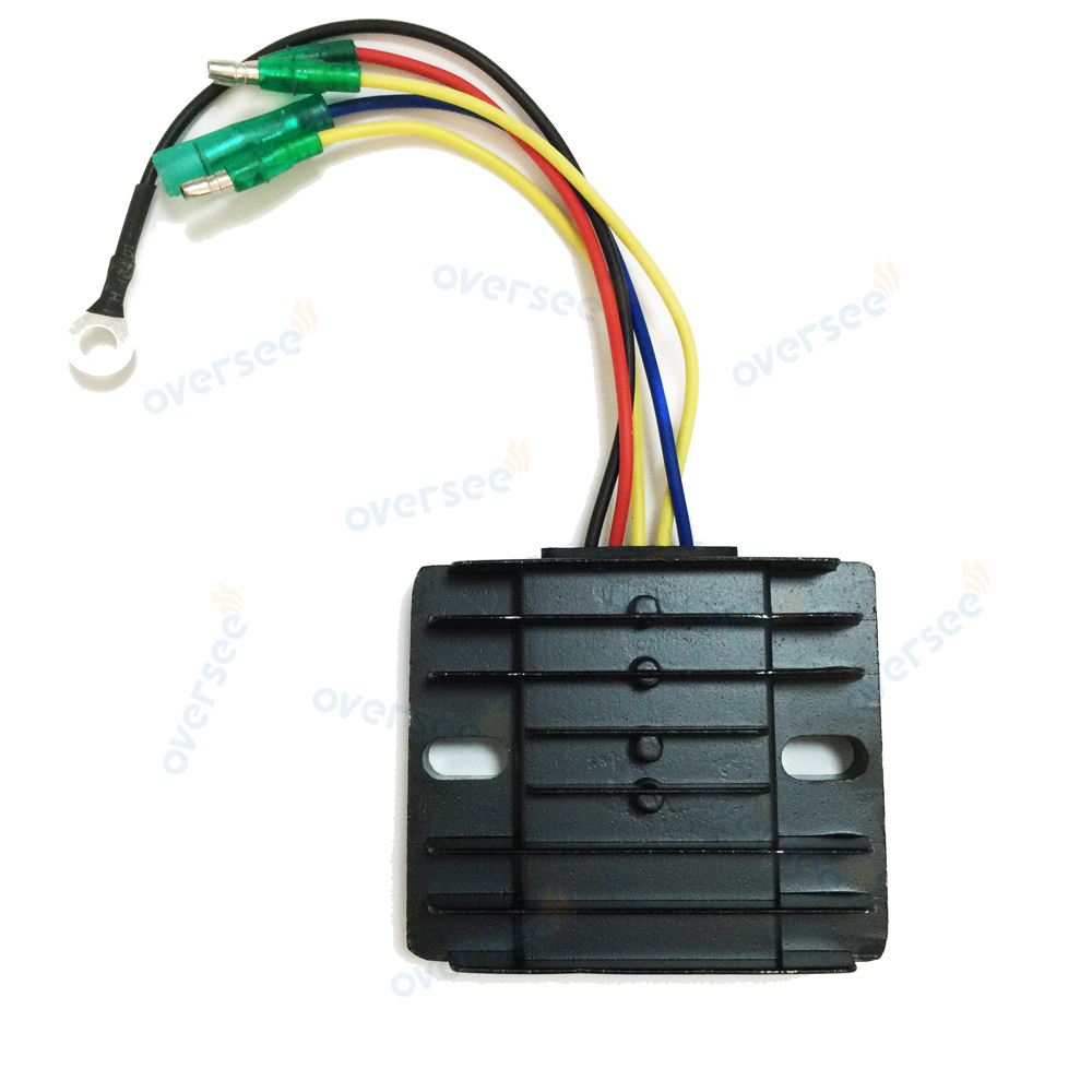 OVERSEE 6AH-81960-00-00 RECTIFIER & Regulator  For YAMAHA Parsun 4 Stroke 15HP 20HP F15 F20 Outboard Engine