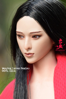 Wonder 1/6 WLS004 Elsa Movable Eye Female Head Sculpture