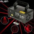 ALIEN Remote 100mw RED Laser Stage Lighting Effect DMX 512 Scanner Stage Light Laser Projector DJ Disco Party Show Lights
