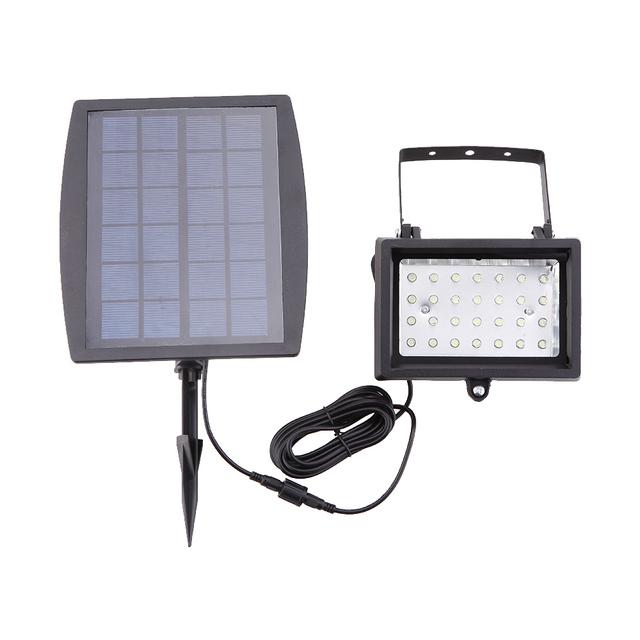 Solar Powered 28 LED Floodlight Lawn Yard Garden Tree Pool Pond Courtyard IP65 Outdoor Solar Panel Lamp IP65