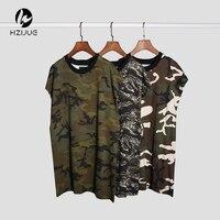 Streetwear Hip Hop Rock T Shirts Swag Harajuku Skate Summer Tops Vest Fitness Gym Clothing Army