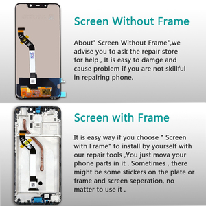 Image 3 - 6.18 inch LCD For Xiaomi Pocophone F1 Display Touch Screen Digitizer Frame 10 Point Touch Assembly For Xiaomi Poco F1 LCD