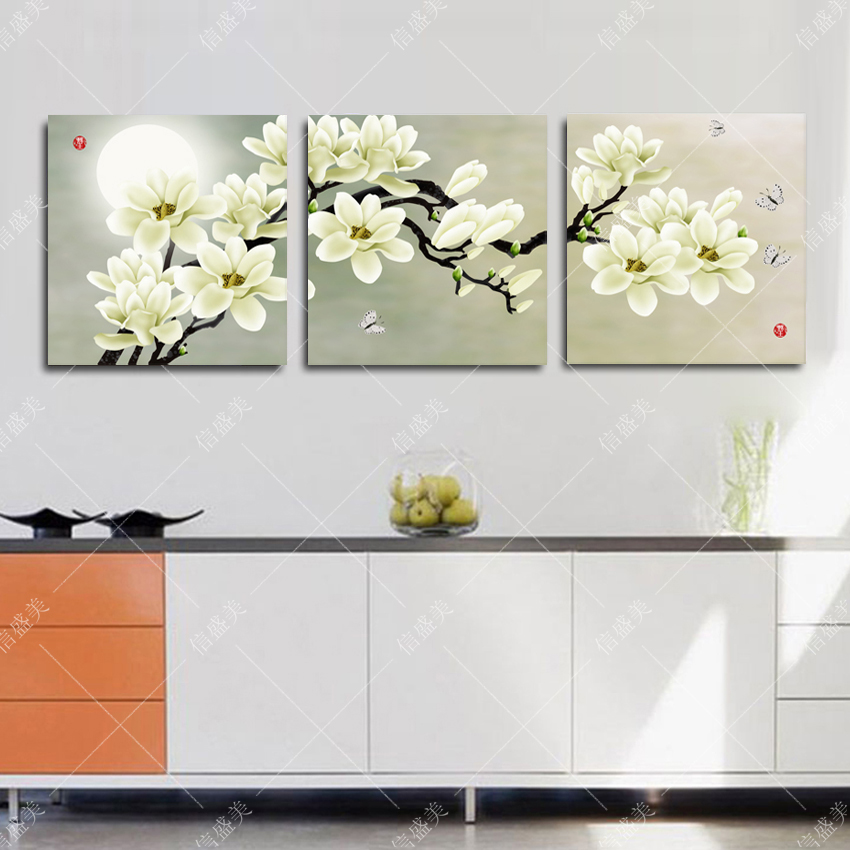 Online buy wholesale triptych oil painting from china - Cuadros decorativos salon ...