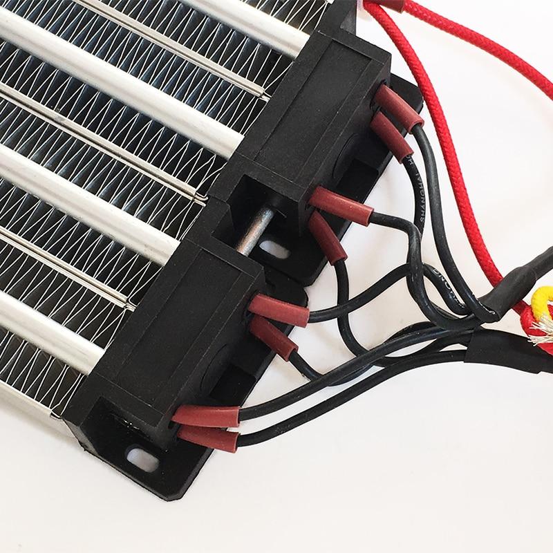 Image 4 - AC DC 220V 1000W Insulated PTC ceramic air heater 140*102mm Electric heater Parts-in Electric Heater Parts from Home Appliances