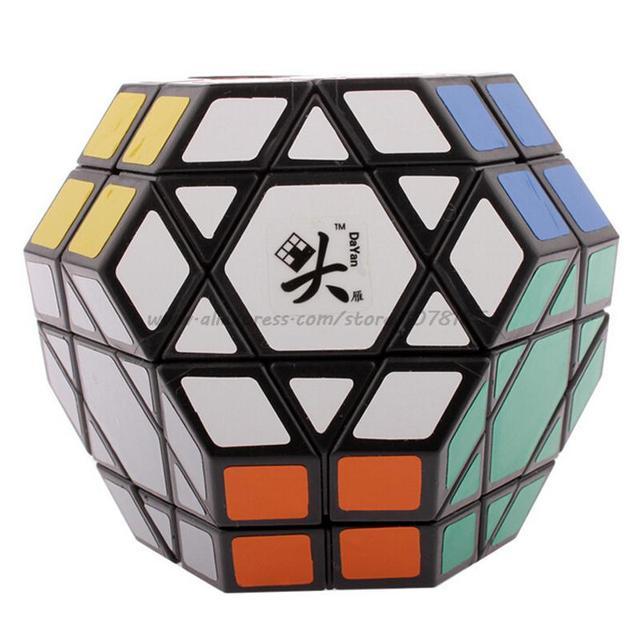 DaYan Gem cube IV grande diamante 4 Cubo Mágico Corpo sinuosa rotacional puzzlelearning & educação brinquedos