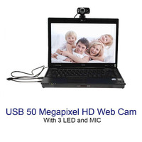 camera computer 5000 Pixel USB 3.0 HD Webcam Camera With Mic For Laptop PC Desktop Computer USB Gadgets (2)