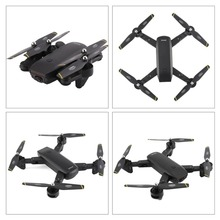 Foldable Quadcopter 2.4G RC Drone with 720P HD Wifi FPV Camera Optical Flow Positioning Altitude Hold Headless Mode