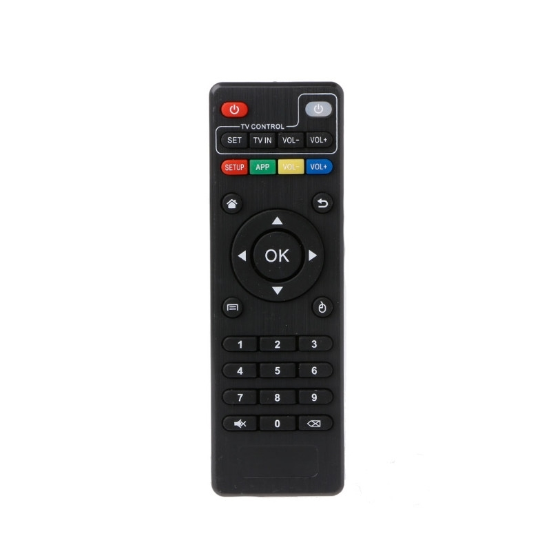 IR Remote Control Replacement Controller For Android TV Box H96 pro+/M8N/M8C/M8S/V88/X96/MXQ/T95N/T95X/T95 image