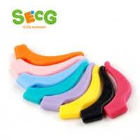 SECG Anti Slip Ear Hook Eyeglass Eyewear Accessories Eye Glasses Silicone Grip Temple Tip Holder Spectacle Outdoor Sport Tool
