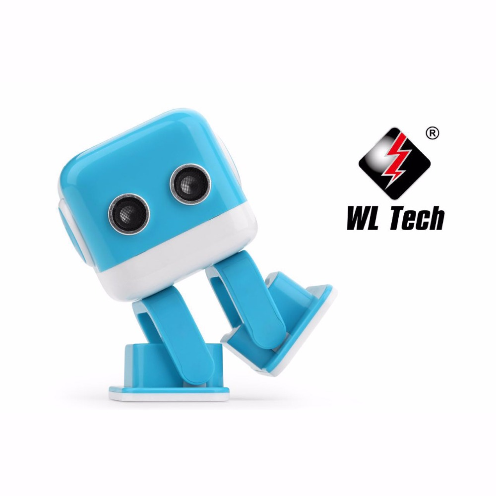 WL Tech cubee Intelligent educational music robot Cute Mini Electric Dancing motion puzzle Figure Toy Model For Children Kids wl v911 black remoter controller motor battery upgrades accessories for wl v911 parts free shipping