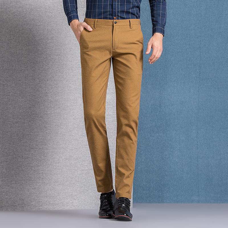 Casual Slim Chinos 3