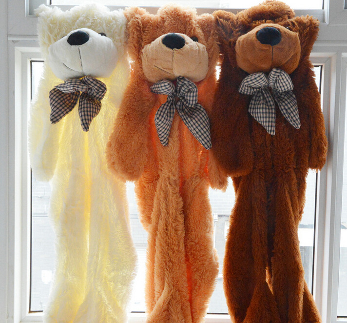 Plush toys Wholesale 2m/2.3m/2.5m/3m huge teddy bear Semi-finished products Bear Skin doll /lovers/christmas/birthday  gift high quality low price plush toys large size300cm teddy bear 3m huge embrace bear doll lovers christmas gifts birthday gift