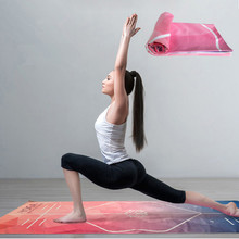 Microfiber Anti-Slip Yoga Fitness Gym Pilates Towels