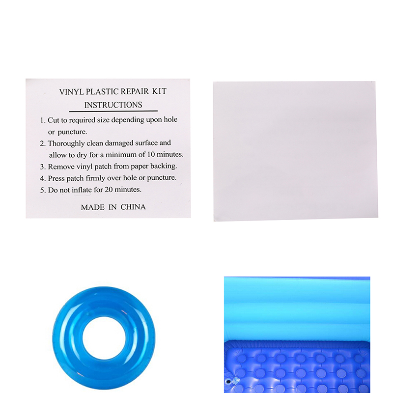 5pcs/set New PVC Puncture Repair Adhesive Patch For Inflatable Toy Swimming Pools Float Air Bed Dinghies Circular Patches