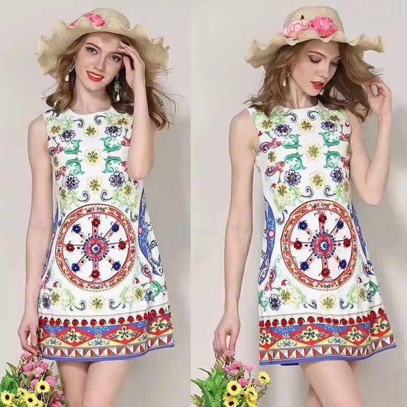 Vestidos verano 2018 mode poupée style décontracté floral robe mignon bureau mini robes pour femmes été vintage roupas feminina