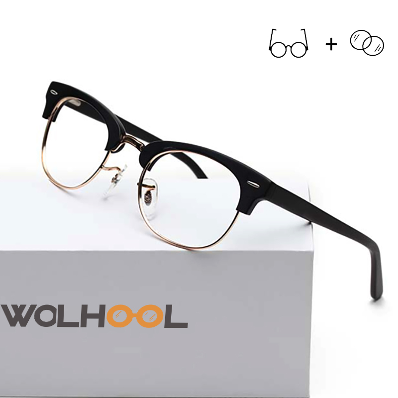 Acetate Frame Women Prescription Eyeglasses Spectacles Optical Glasses Men Fashion Eyewear Progressive Astigmatism(China)