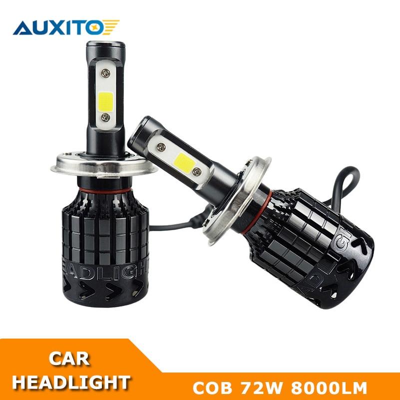 8000LM Automobiles Car LED Headlight  H8 H9 H11 LED Headlight Bulb COB Fog Lamp 12V For Toyota Ford Volvo Chevrolet Mazda Lexus