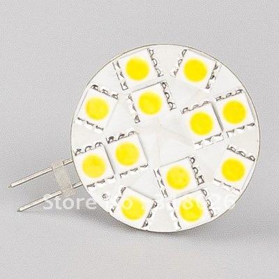 Free Shipment 12 Led G4 Lamp (wide volt AC/DC10-30V) 5050SMD Bi-pin Car Home Ship Indoor Lighting Bulb Lamp 10pcs/lot
