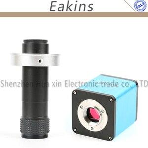 Image 1 - Otomatik odaklama SONY IMX290 Sensör 1080 P HD 60FPS HDMI Sanayi Video Mikroskop Kamera + 130X Zoom c mount Lens PCB için SMT Tamir