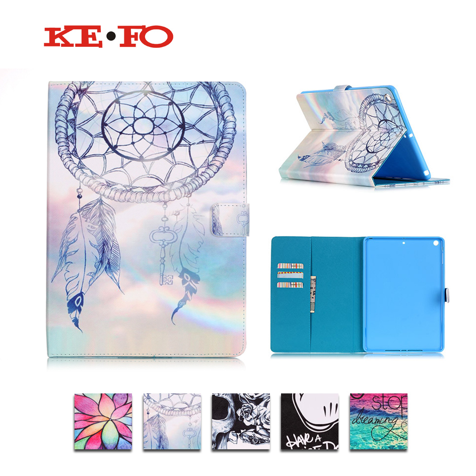 KeFo Funda For ipad mini Case leather,Cartoon PU Stand Cases For Apple ipad mini 3 2 1 Cover Tablet Accessories For Girl kids