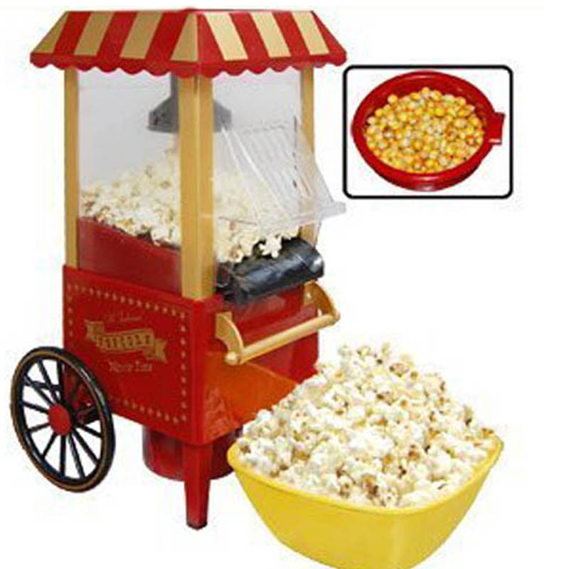 buy electric automatic popcorn maker machine nostalgia electrics vintage hot. Black Bedroom Furniture Sets. Home Design Ideas