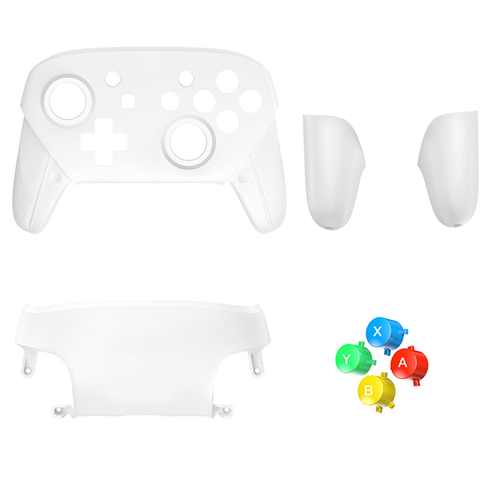 цена на Replacement Shell Case for Nintendo Switch Pro Controller With Buttons Handles Cover Caps 5 Colors Protective Housing Cases
